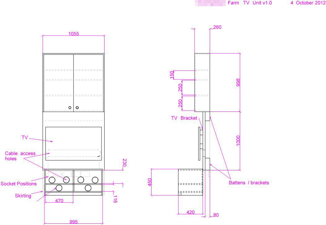 Alcove Storage Units