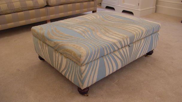 bespoke storage footstool