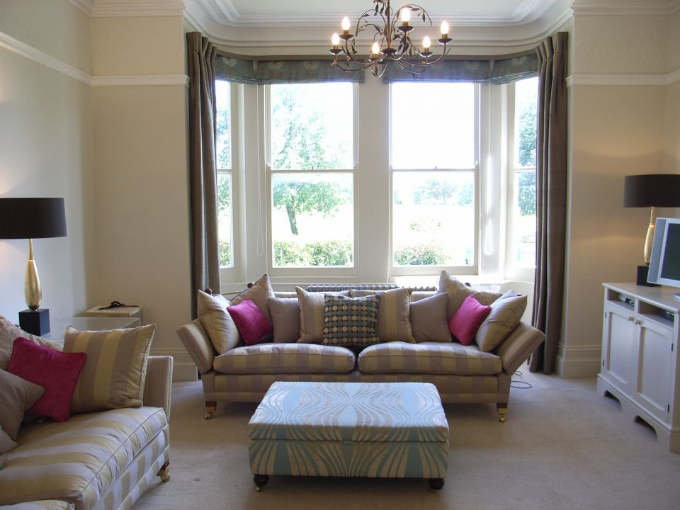 sitting room overlooking Clifton Downs