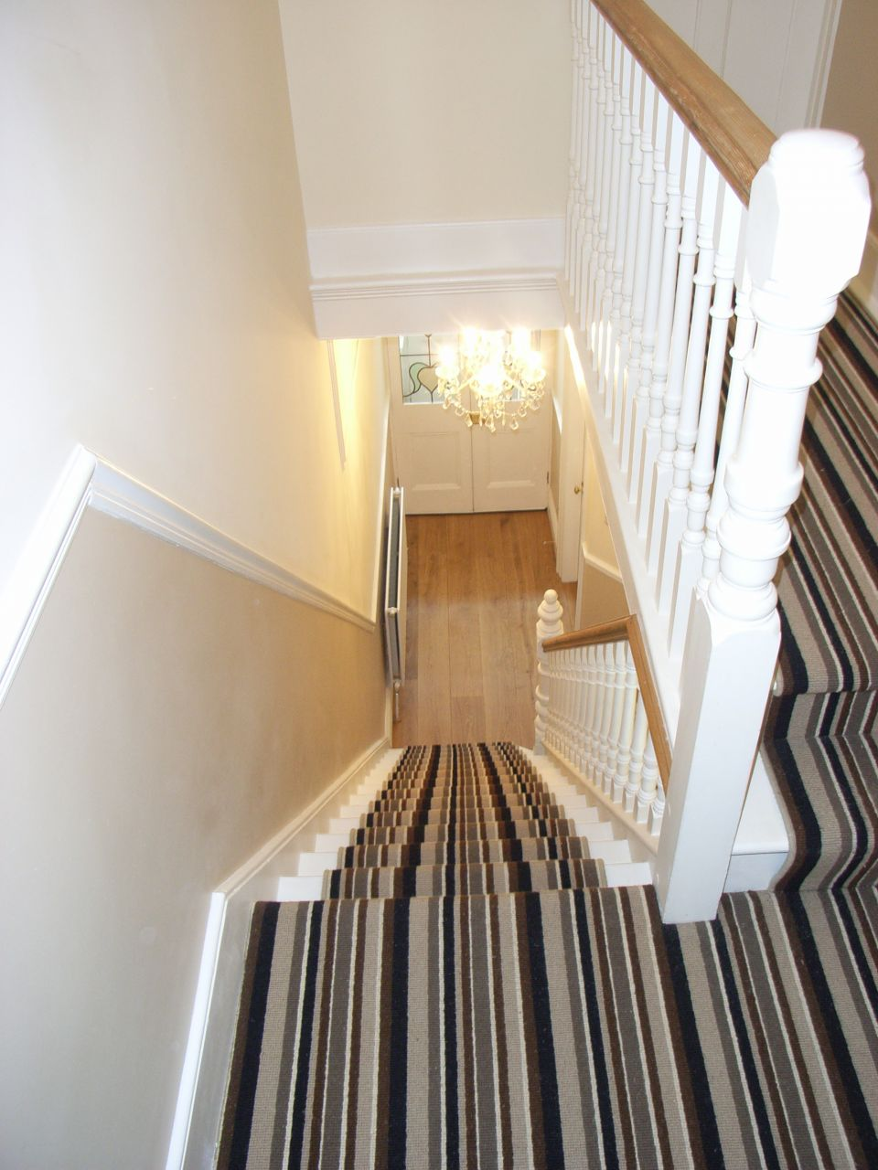 Halls stairs and landings style within - Home designer stairs with landing ...