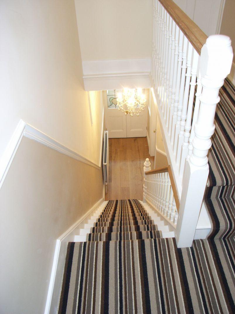 contemporary striped carpet