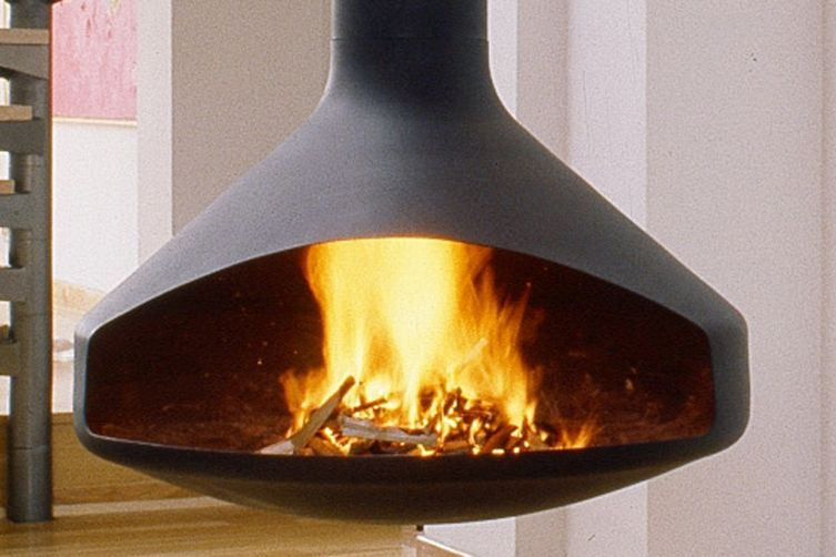 contemporary suspended fire