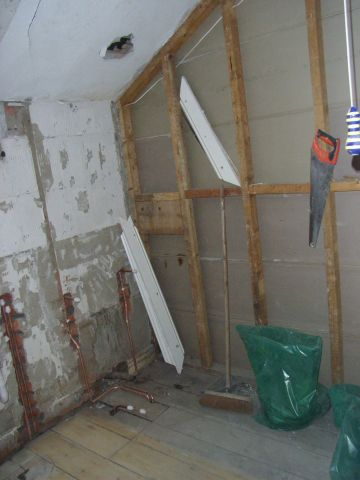 bathroom stripped