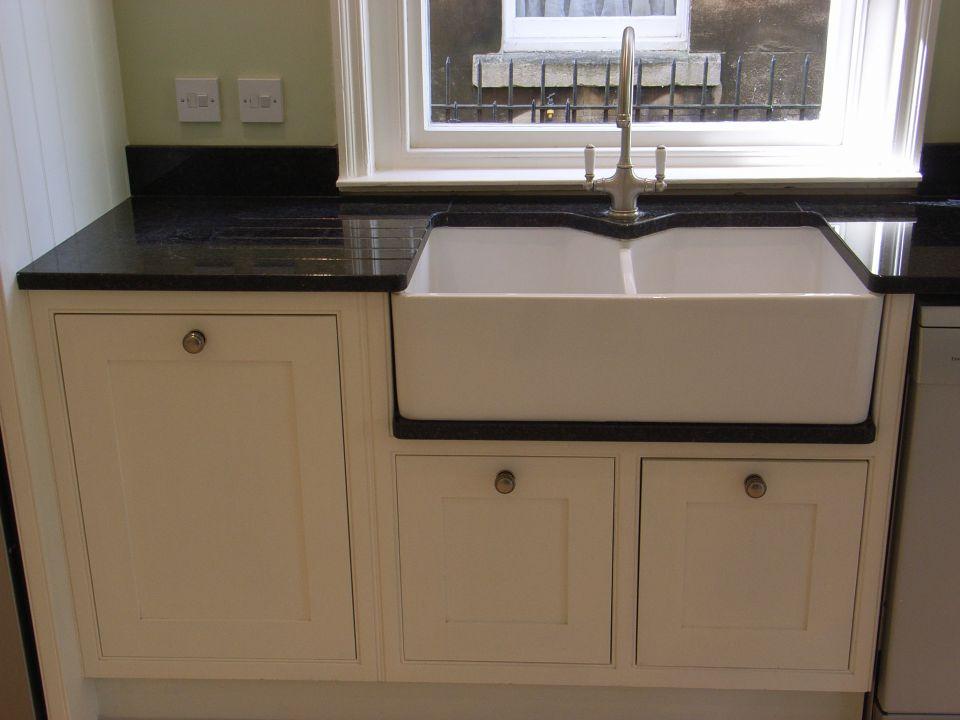 Kitchen units style within for Double kitchen base unit