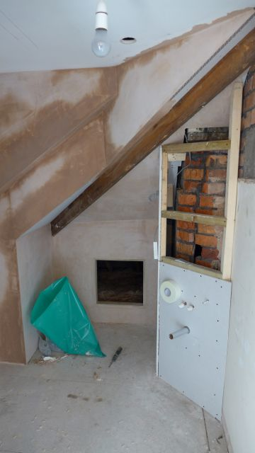 creating attic en-suite