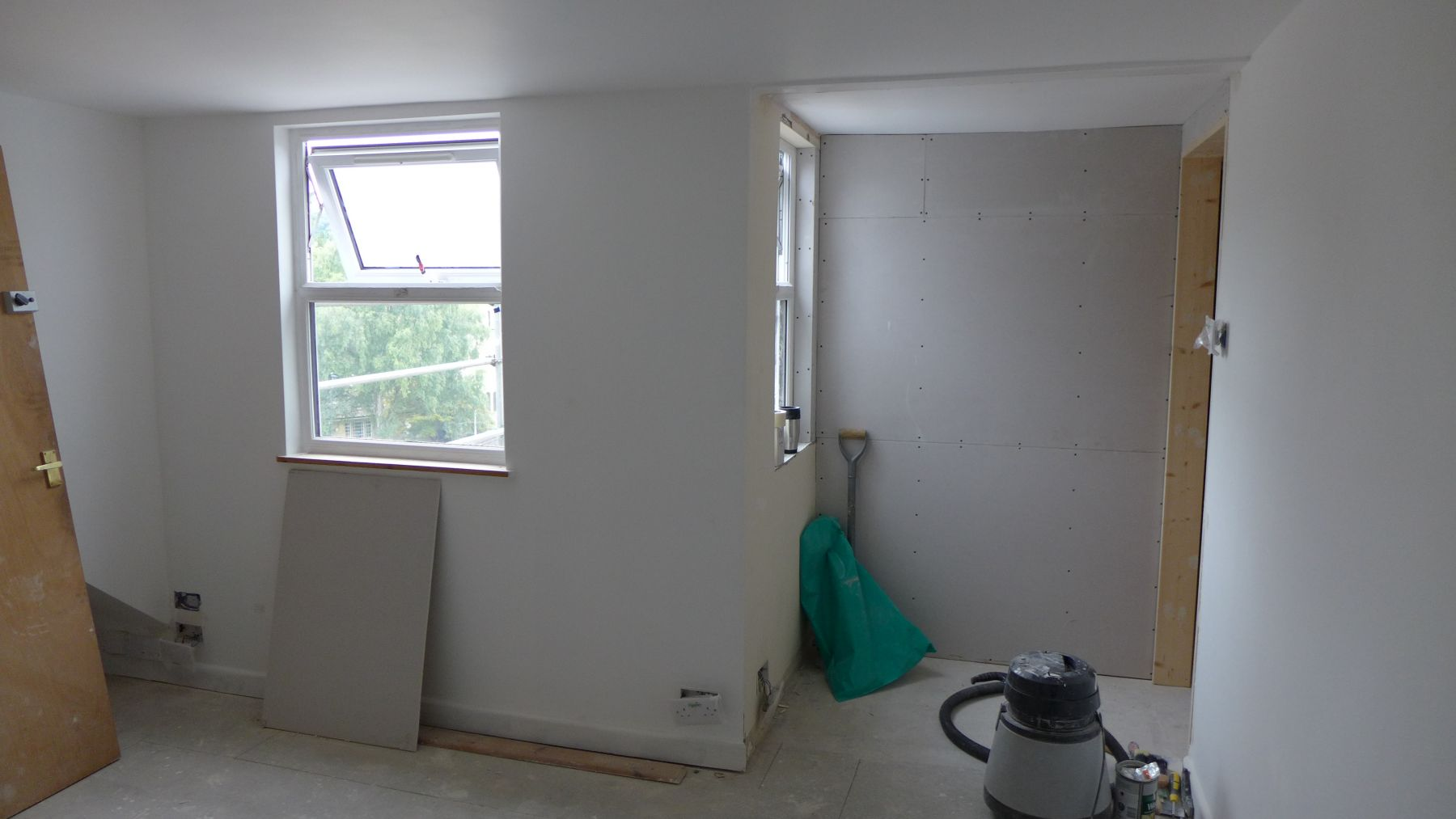 creating attic room with en-suite