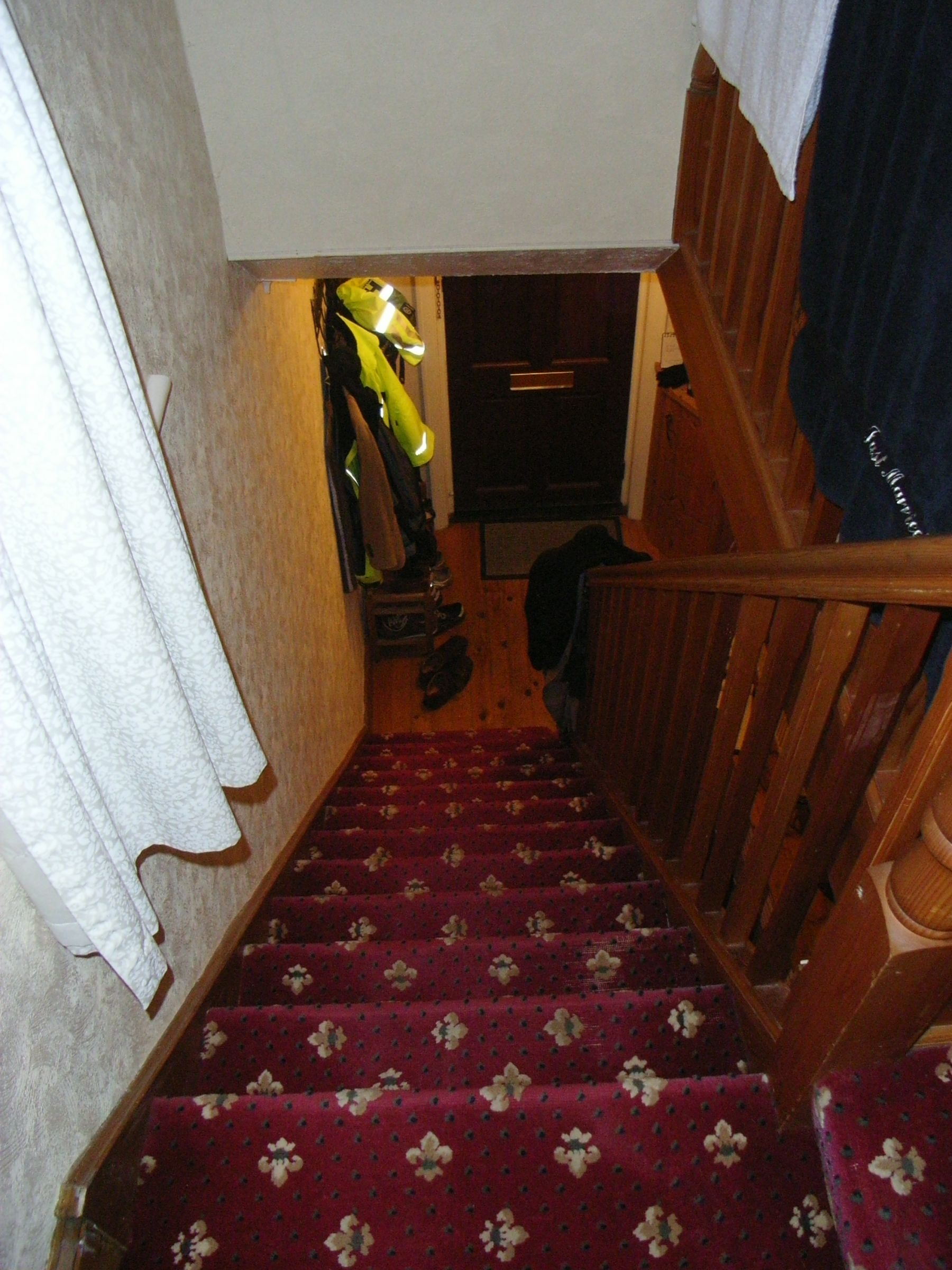 original dark stairwell