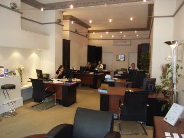 estate agent office refurbishment