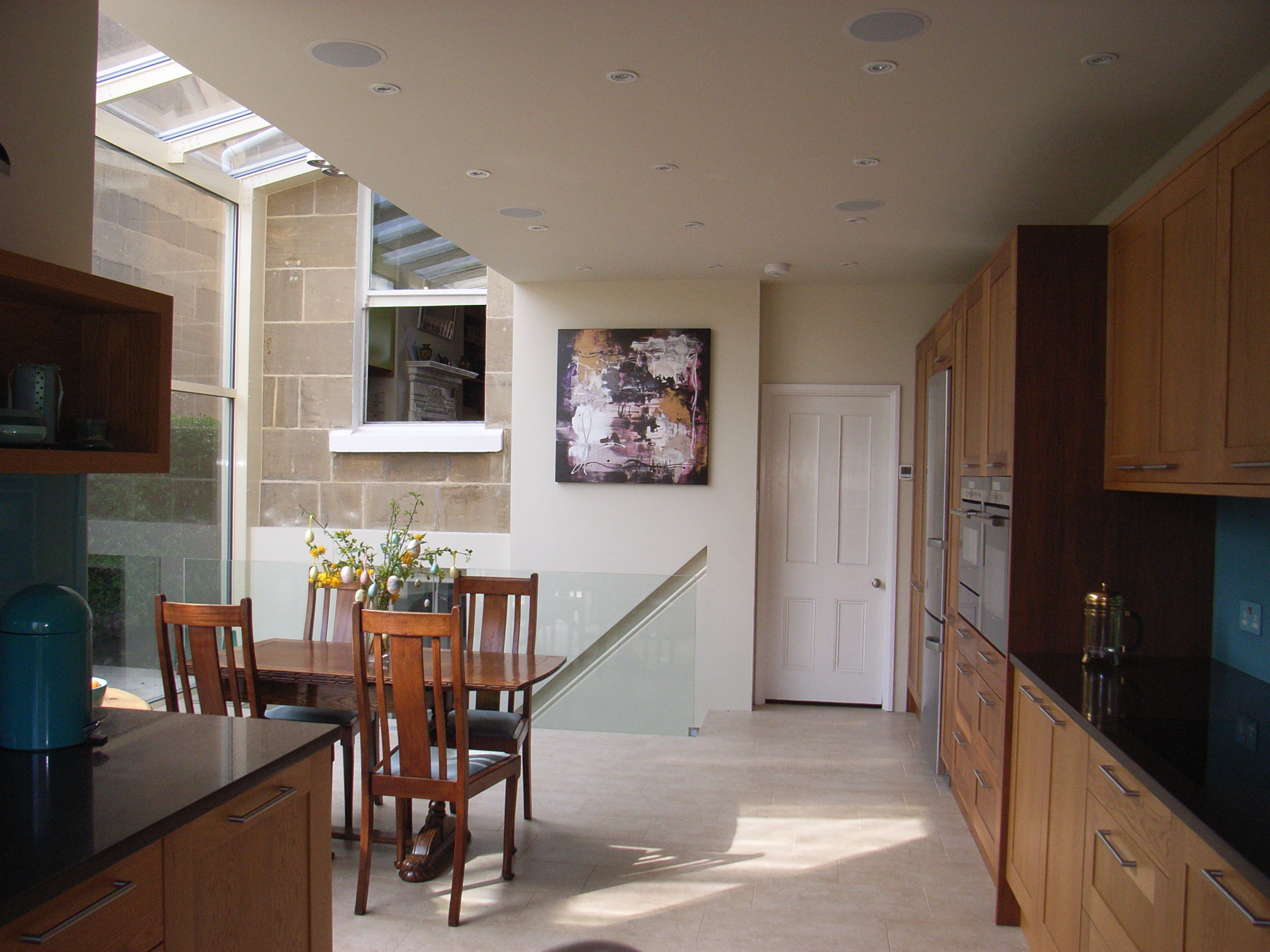 Conservatory Roof Conversion >> Glass Extension and Basement Conversion in Bath - Style Within