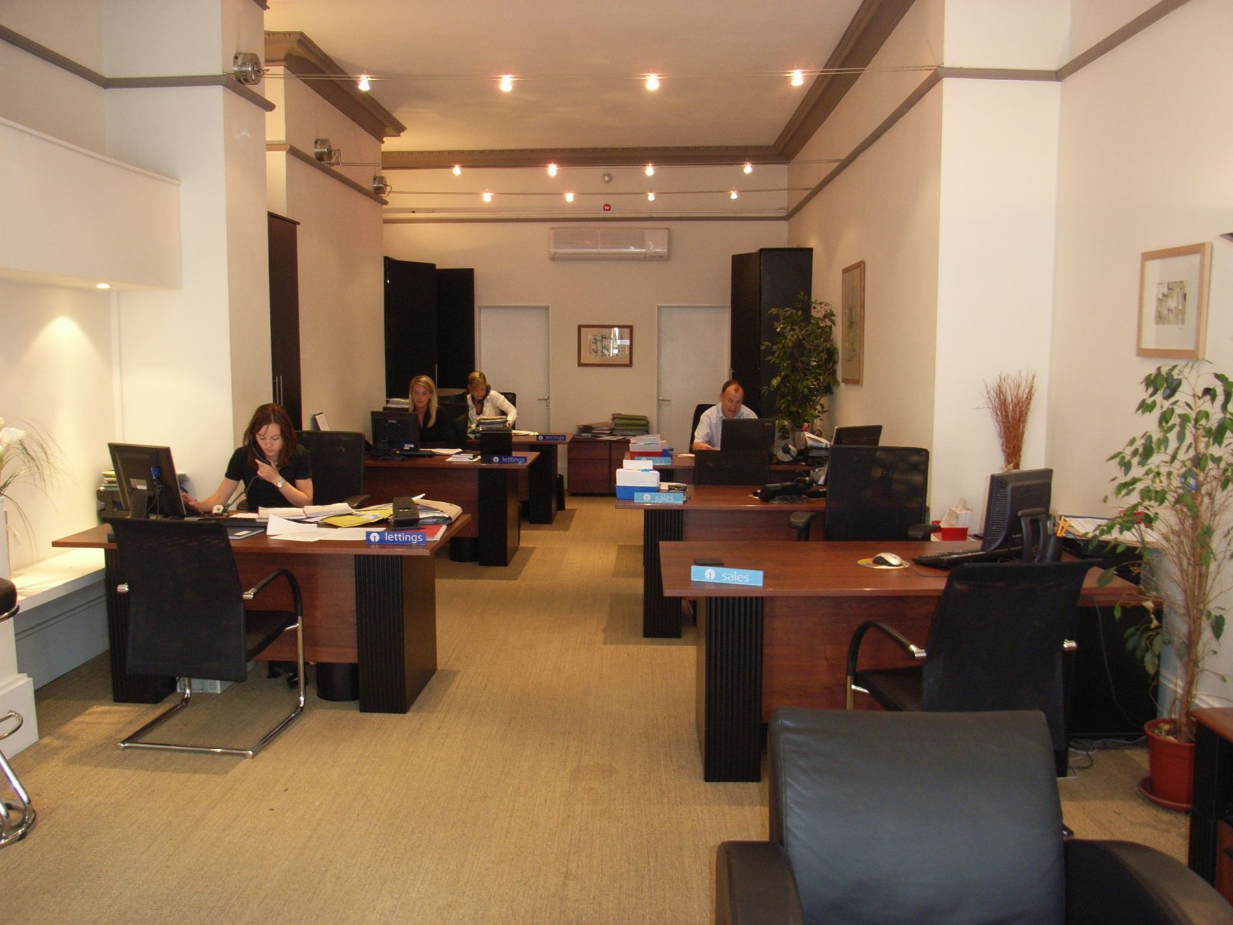 refurbished office