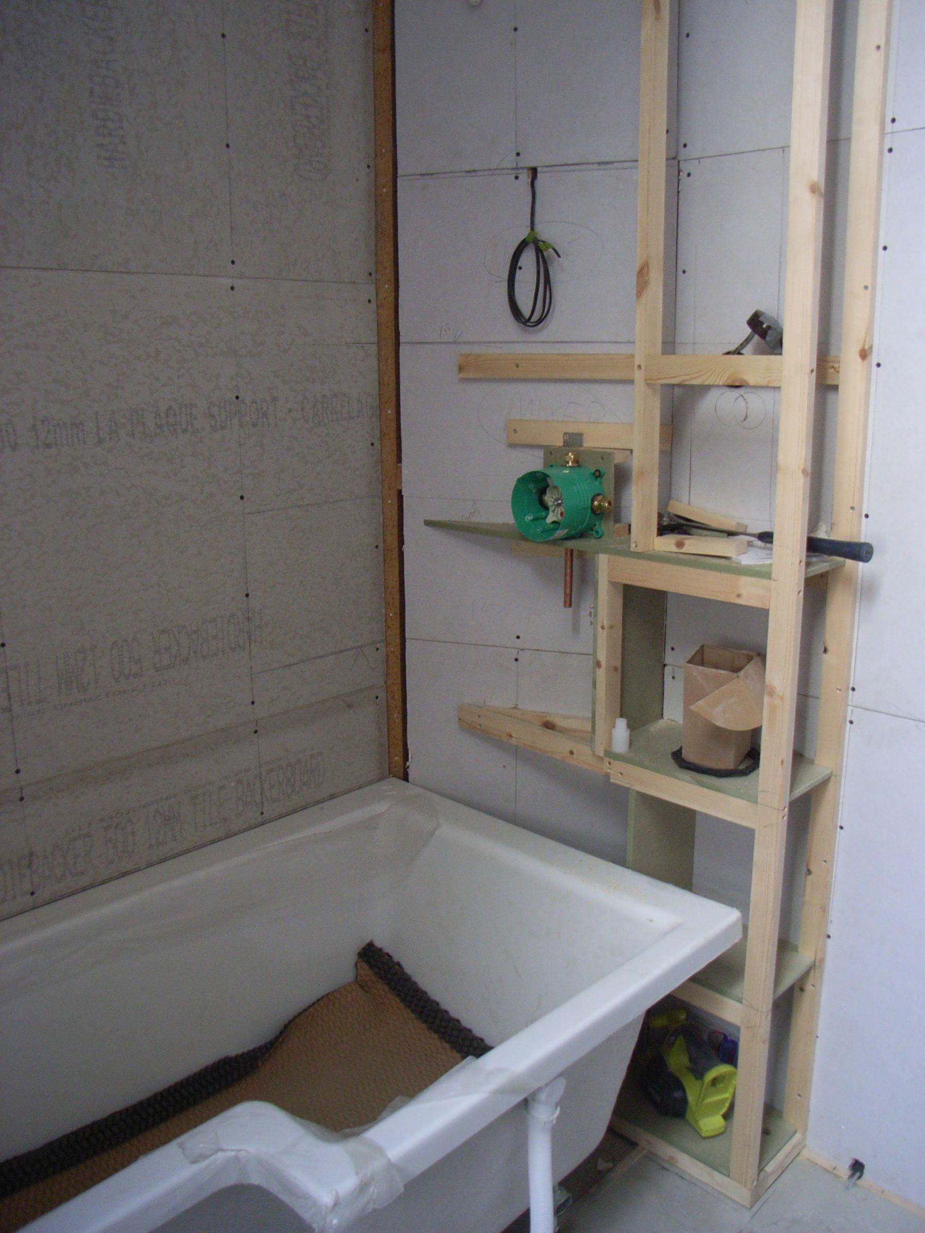 shower bath storage