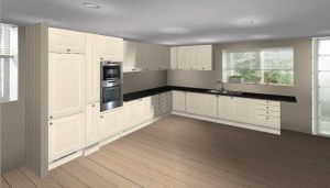 3D visual for new kitchen design