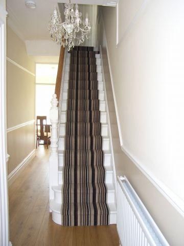 striped stair carpet runner