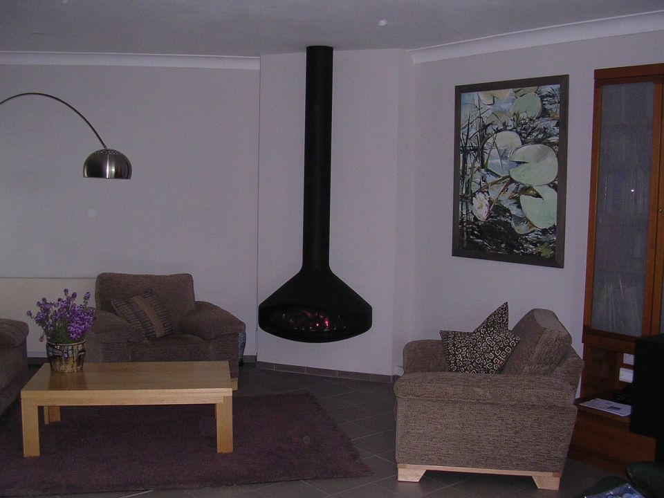 architectural gas fire
