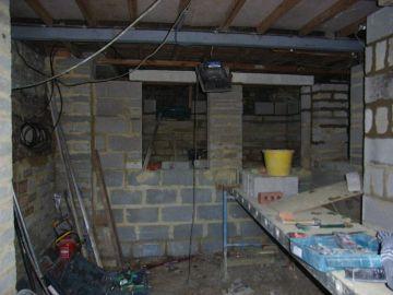 basement storage cupboards