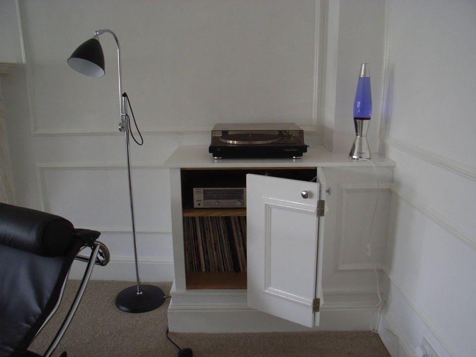 bespoke LP record storage