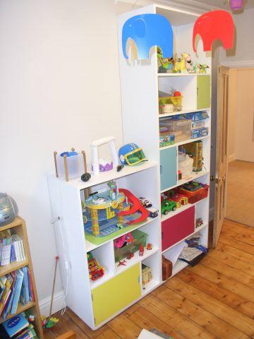 bespoke child's storage unit