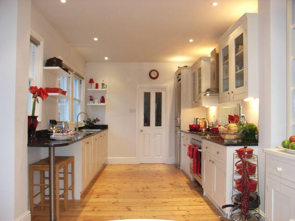 bright kitchen design in Bath