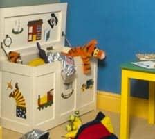 colourful children's bedroom