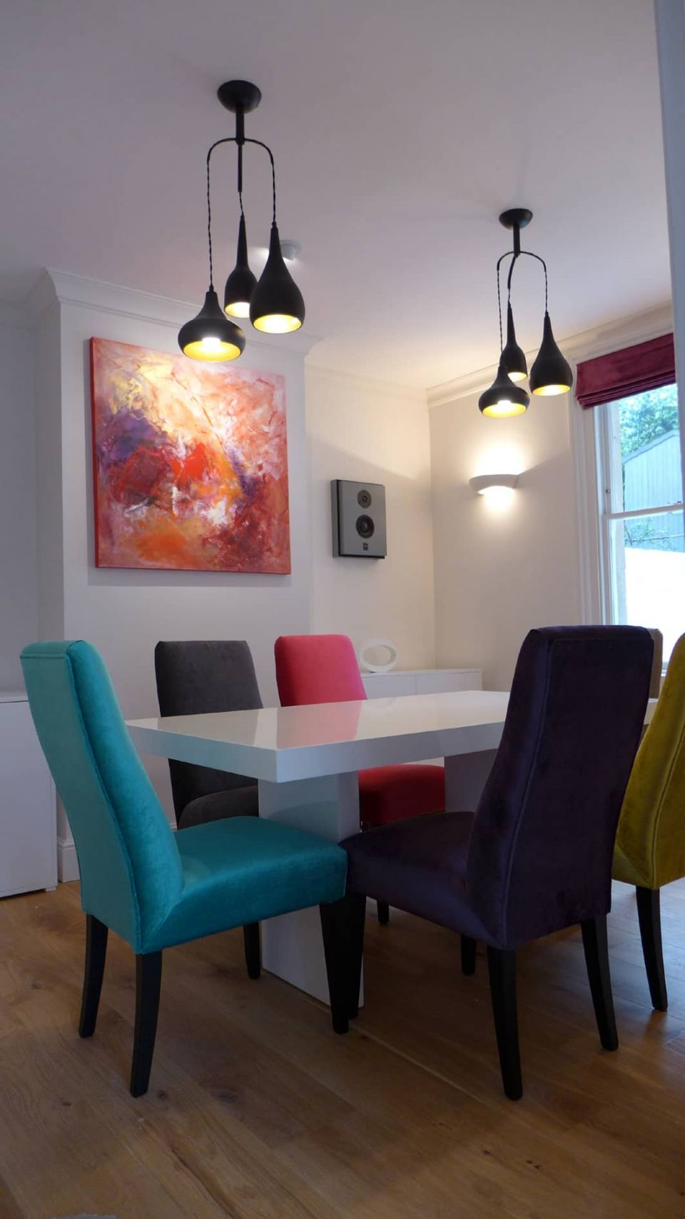 Colourful Dining Room Part 29