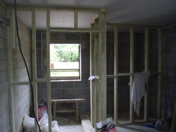 en-suite bedroom being former