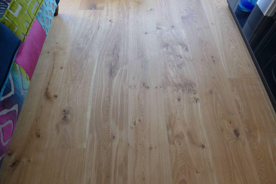 engineered oak overlay floorboards