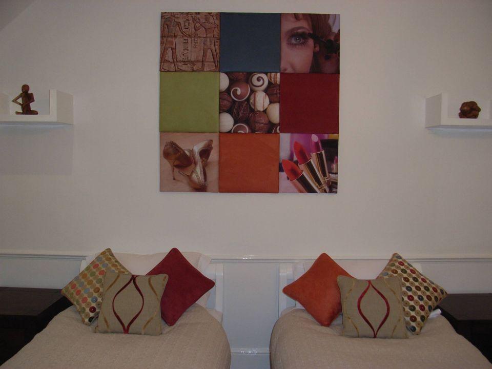 fabric wall panel art