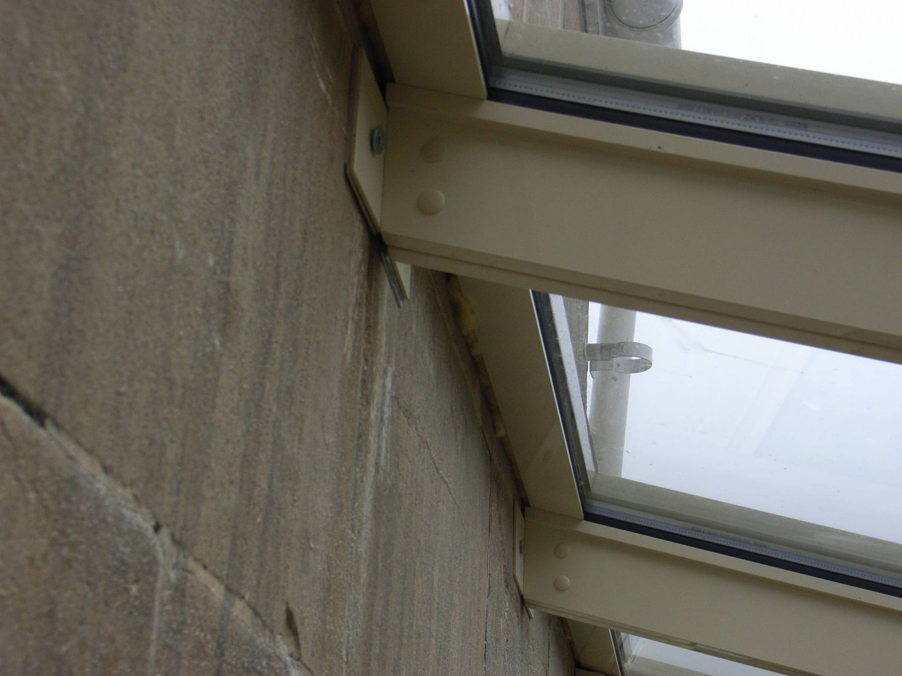 fixing glass extension frame
