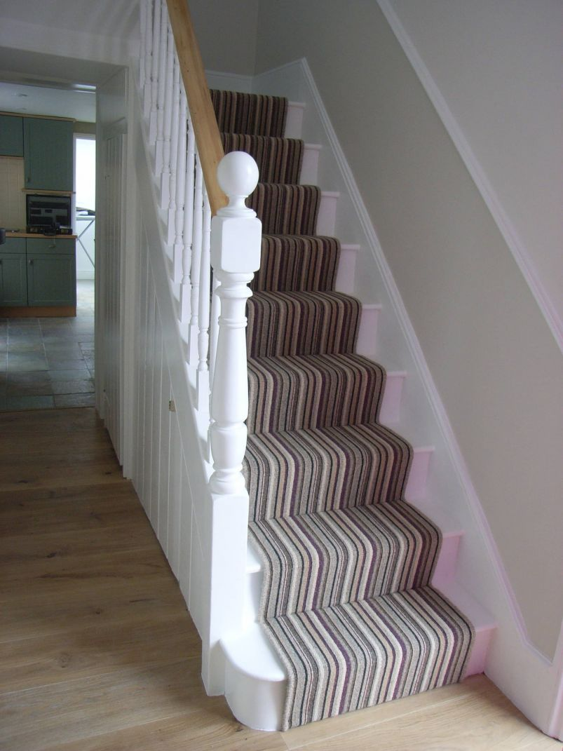 hall and stairs after decoration