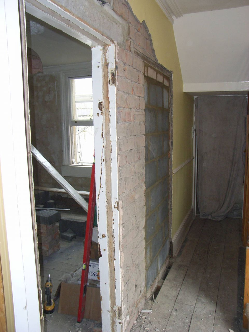 hallway reconstruction