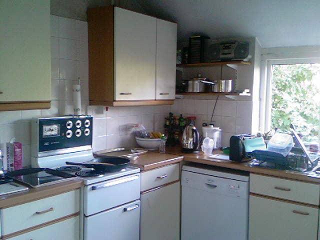 kitchen needs renovating