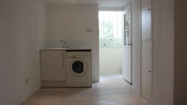 laundry in basement conversion