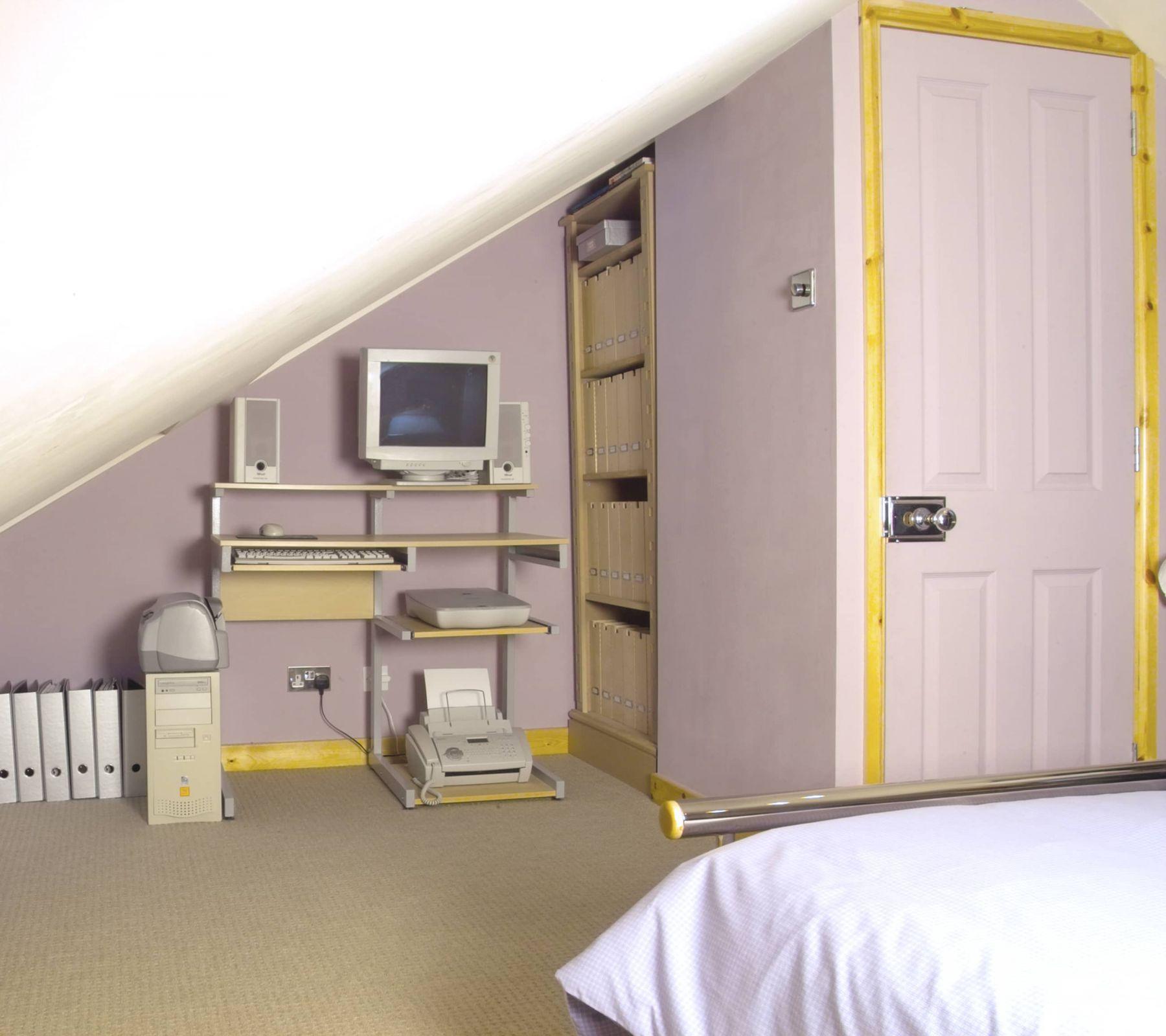 office in attic conversion