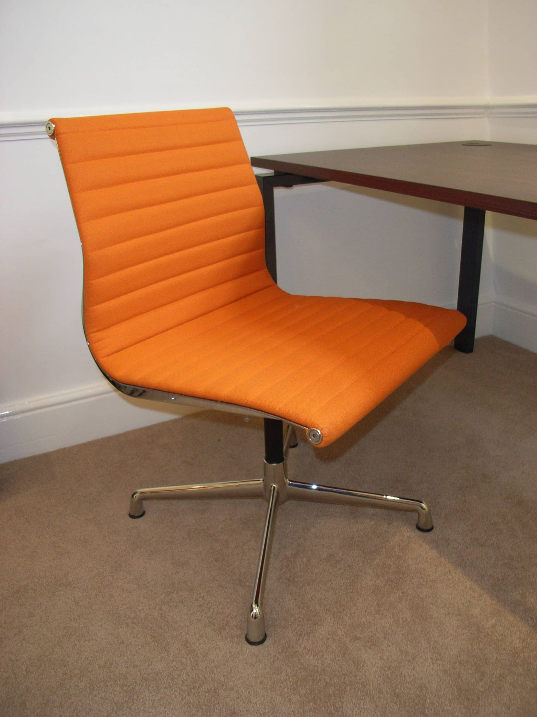 orange office furniture. orange leather office chair furniture o