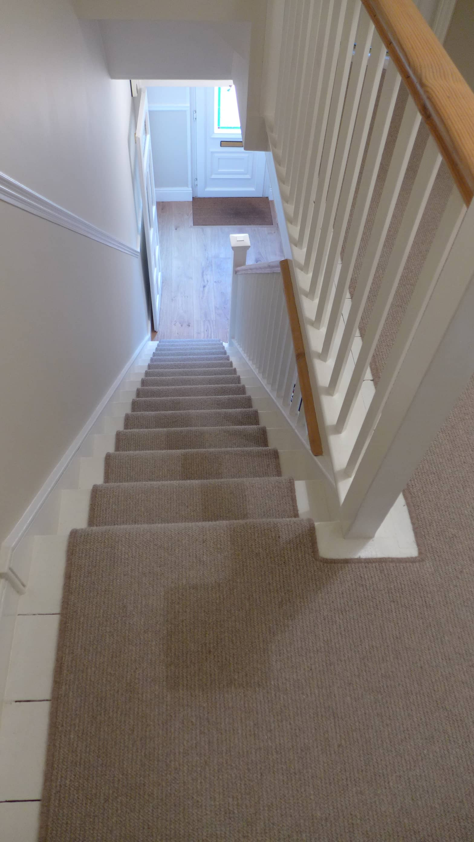 plain stair carpet runner