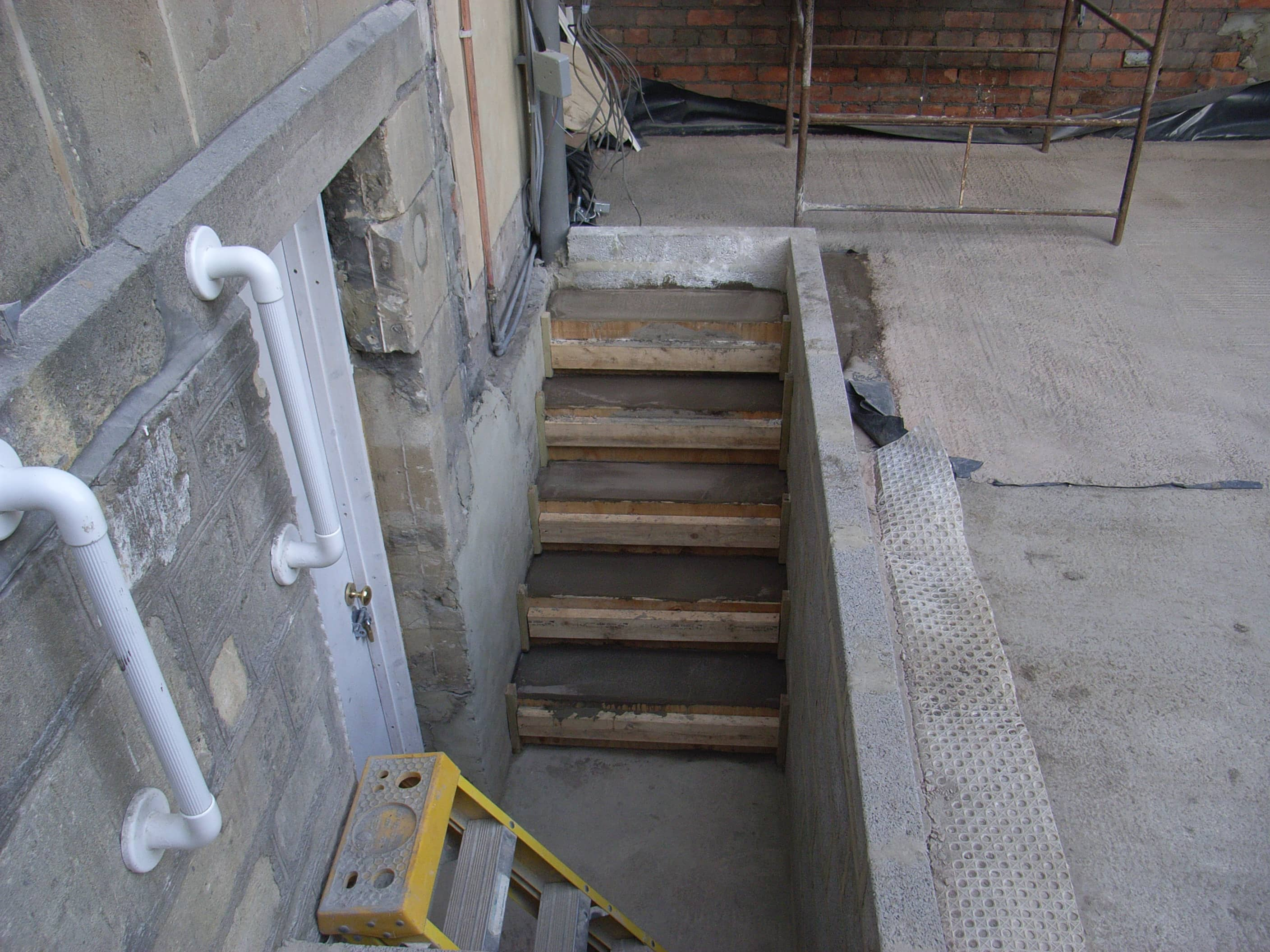 steps to basement conversion