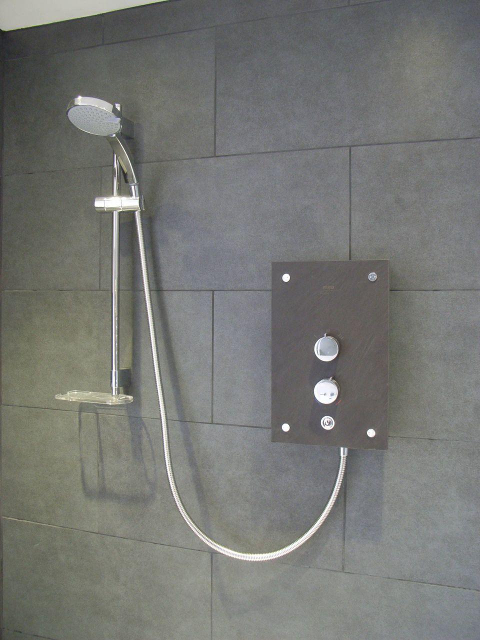 stylish electric shower