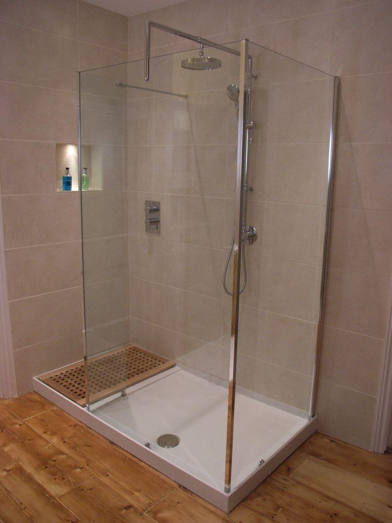 walk in en-suite shower