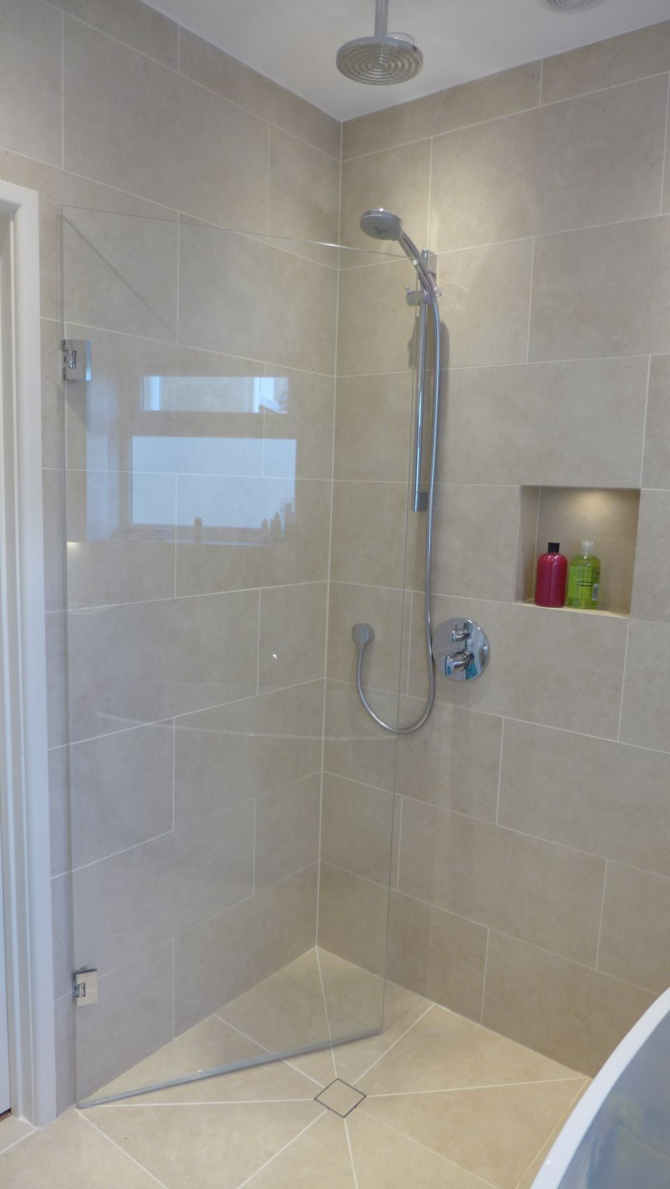 Tiled Wet Room Tray