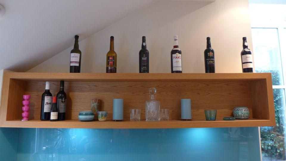 kitchen box shelf