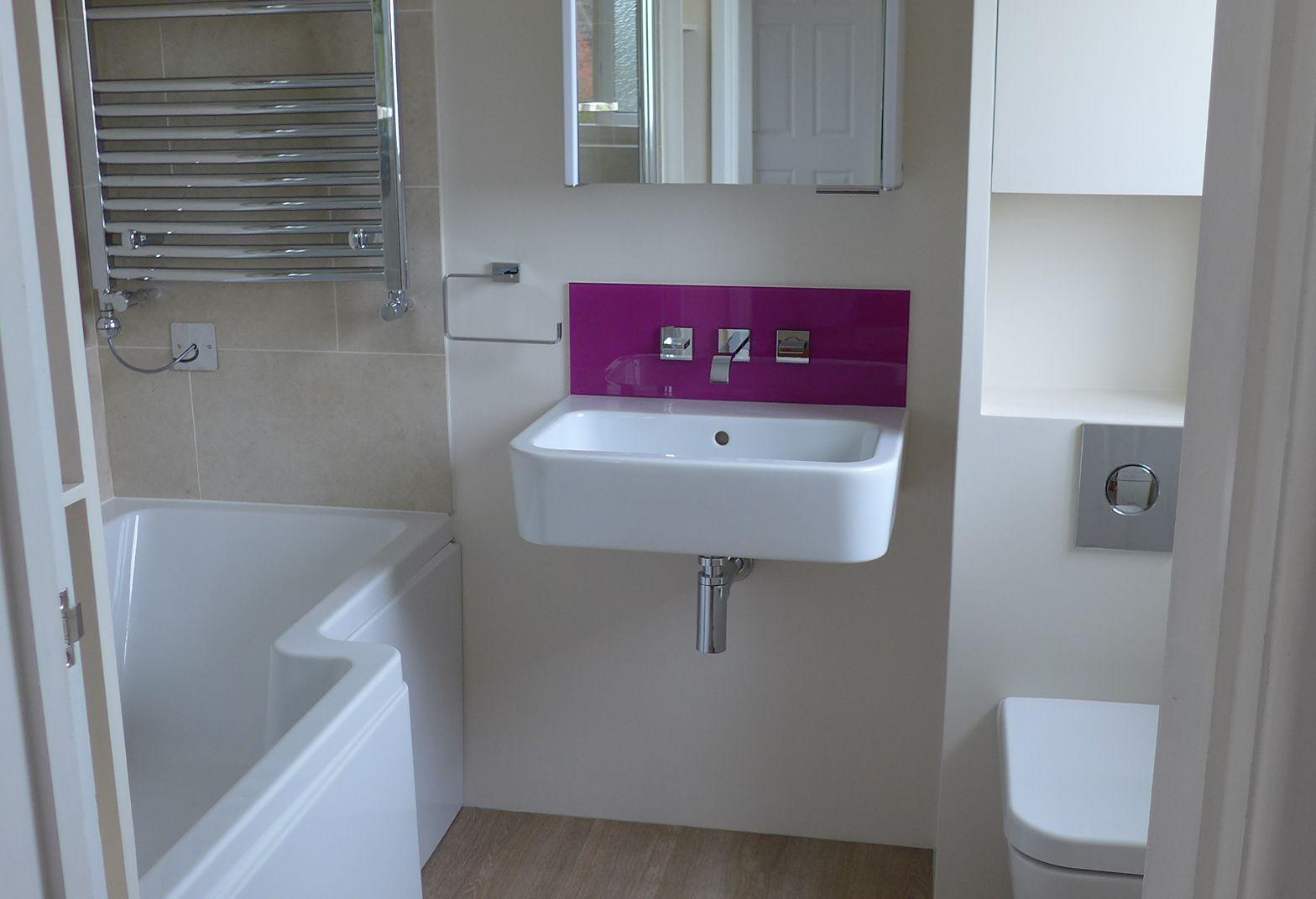 Glass splashbacks for bathroom sinks - Style Within