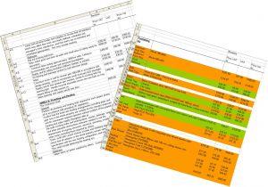 Pricing Spreadsheet