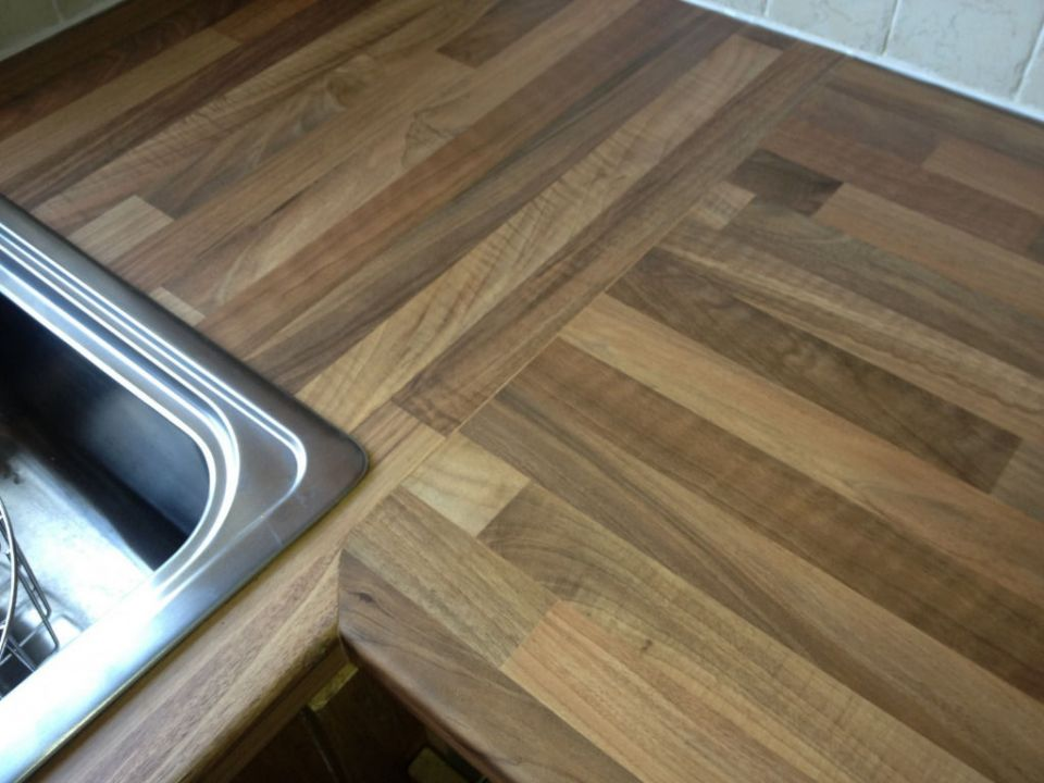 How To Colour Kitchen Worktop Joint