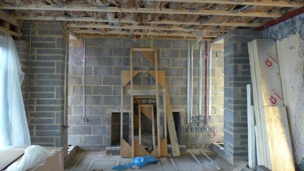 new build - first fix electrics