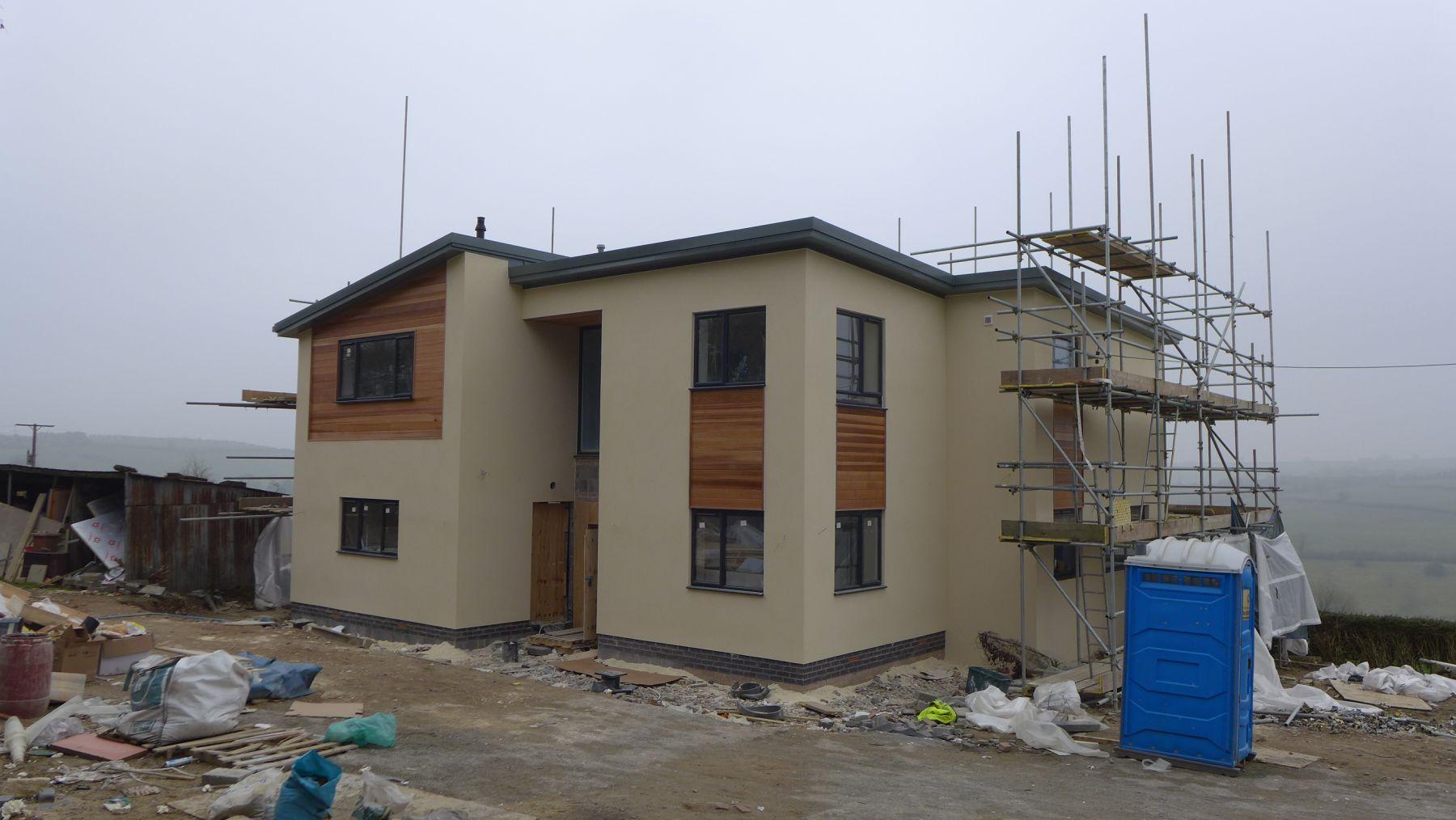 new build under construction