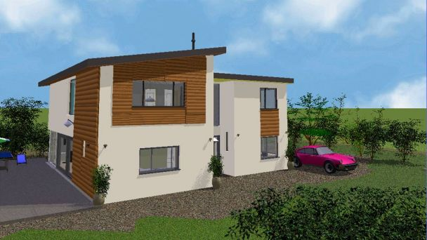3D image of new build property
