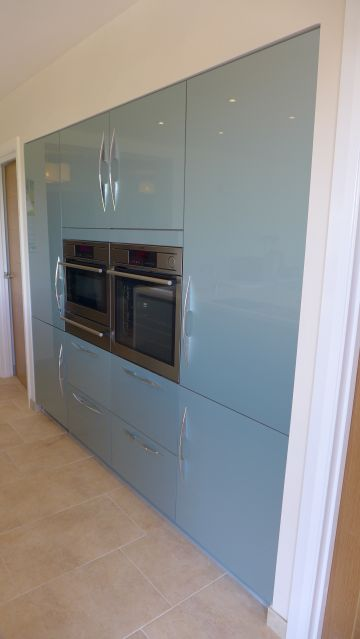 built in kitchen units