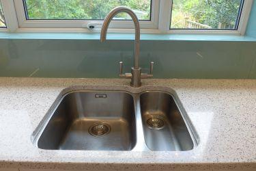 new undermount kitchen sink