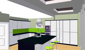 Wrap around extension - kitchen