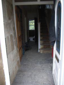 hall before decoration